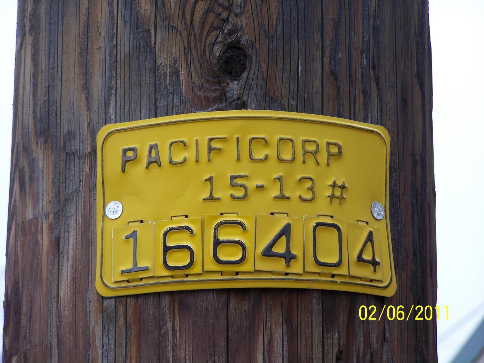 Pacific Power Example