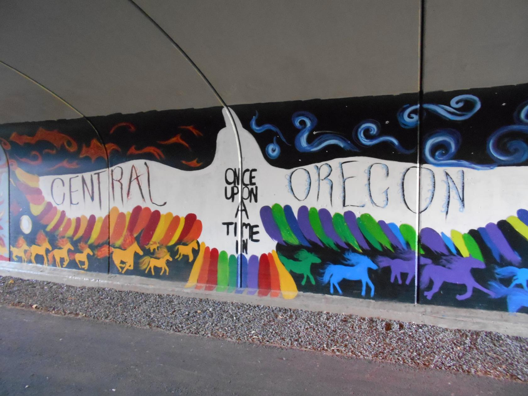 Tunnel Mural