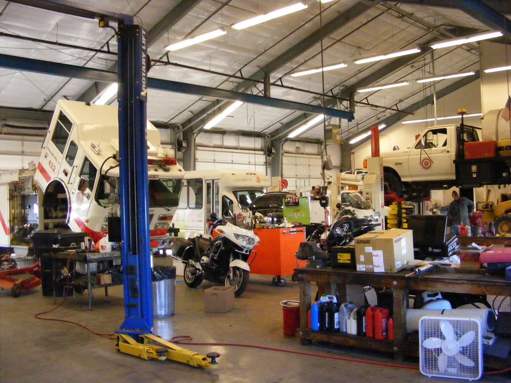 Vehicle Maintenance Shops