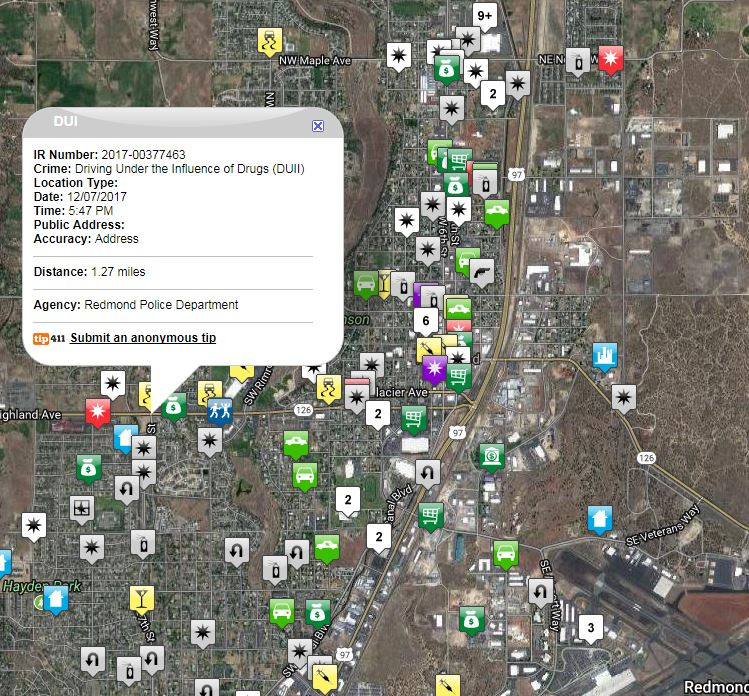 Community Crime Map actual