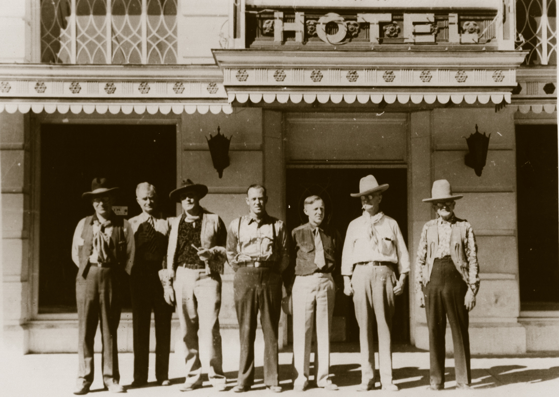 The Redmond Hotel often served daily lunch to local businessmen.