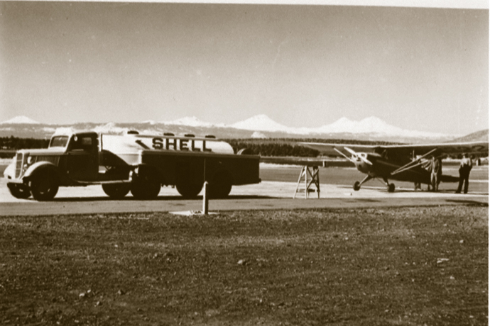 Redmond's airport has had a long history. It even became a training location for pilots in World War II.