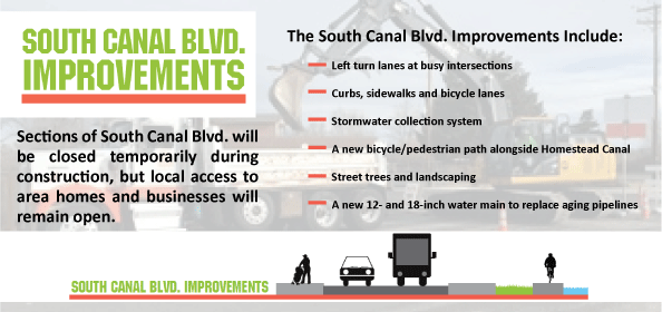 South Canal Blvd. Improvements