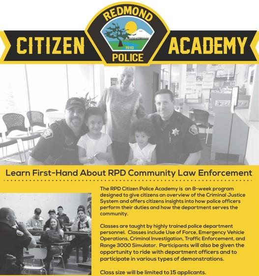 Citizens Academy | Redmond, OR