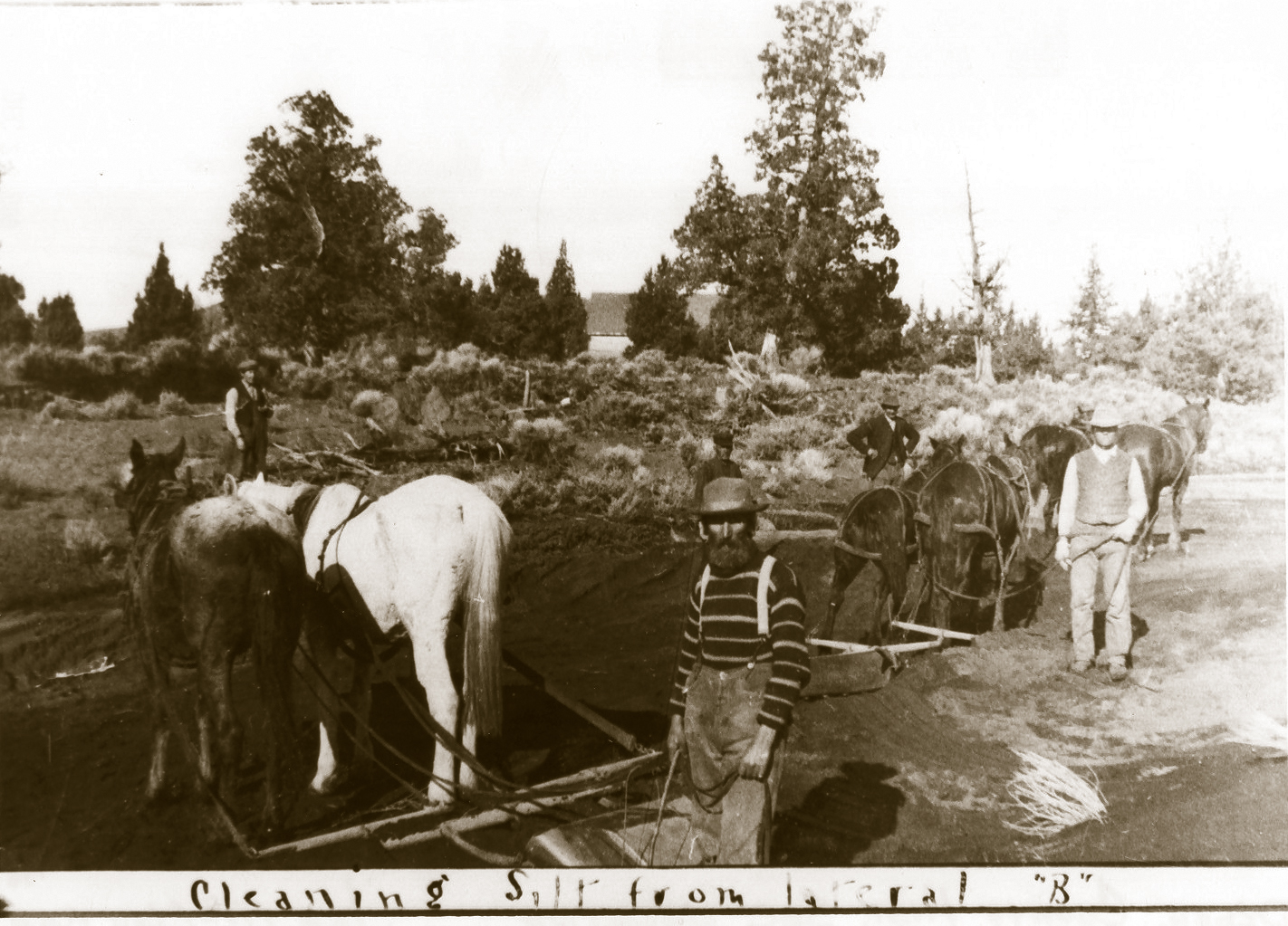 The irrigation canals were vital to Redmond homesteaders.